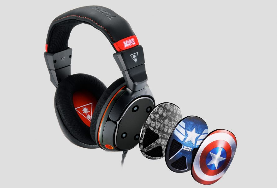 Captain America Headset Announced by Turtle Beach