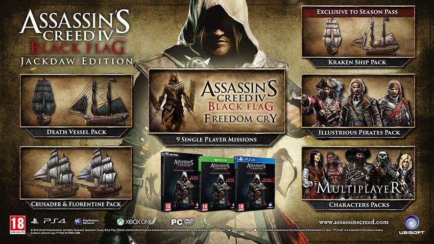 Ubisoft Reveals Assassin's Creed IV: Black Flag Jackdaw Edition
