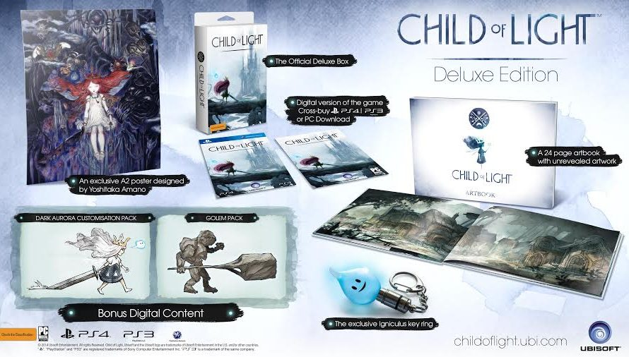 Ubisoft Reveals Child of Light Deluxe Edition