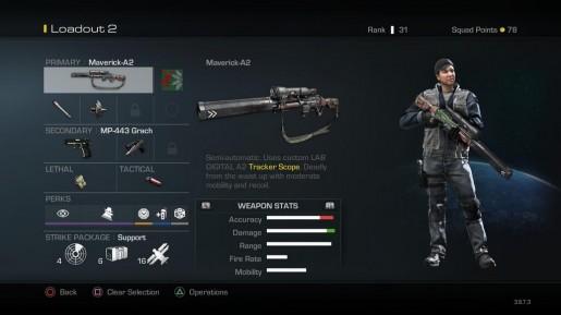ghosts maverick sniper rifle
