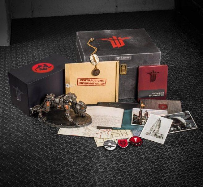 Wolfenstein: The New Order Panzerhund Edition Includes No Game