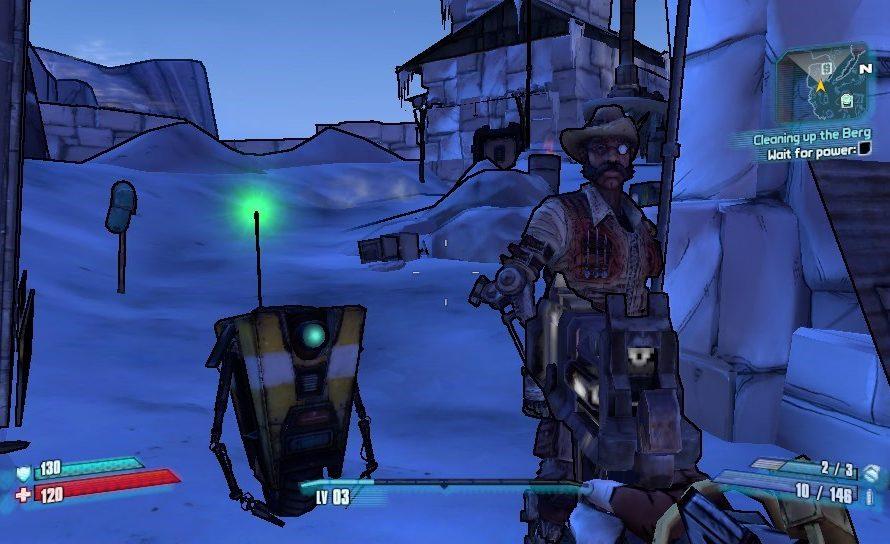 New Borderlands 2 PS Vita Screenshots