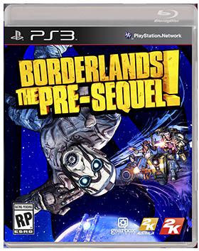 Borderlands Pre-Sequel Gets Boxart & Screens