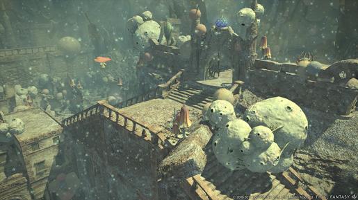Final Fantasy XIV Lost city of Amdapor