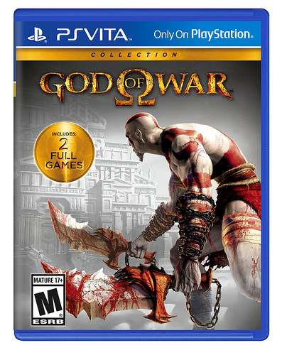 God Of War Collection Announced For PS Vita