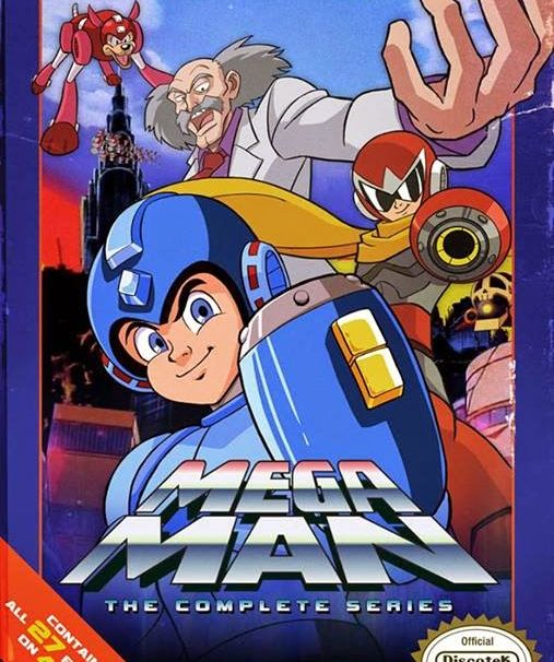 Mega Man Cartoon Is Getting DVD Re-Release With NES Themed Packaging