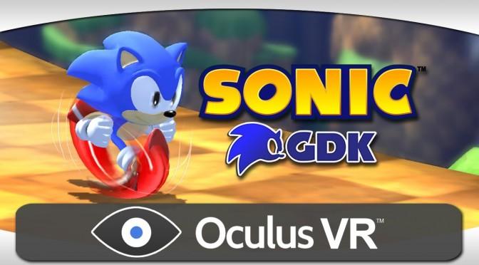 Sonic the Hedgehog On Oculus Rift Looks Dizzying
