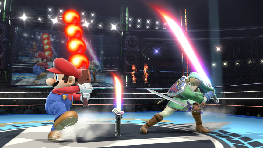 Super Smash Bros.' Fire Bar Item Will Grow Shorter After Each Swing