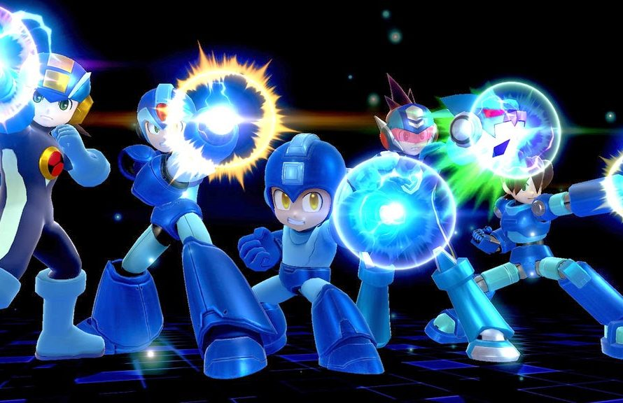 Super Smash Bros. Includes Five Mega Man Iterations In His Final Smash