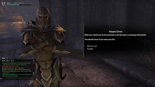 The Elder Scrolls Online  Banished Cells 02