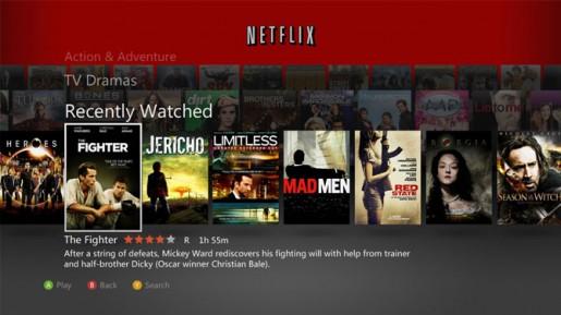 Xbox Live Netflix