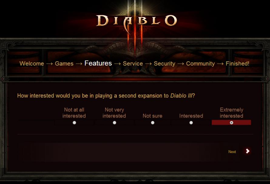 Blizzard Surveys About Second Expansion Pack For Diablo 3