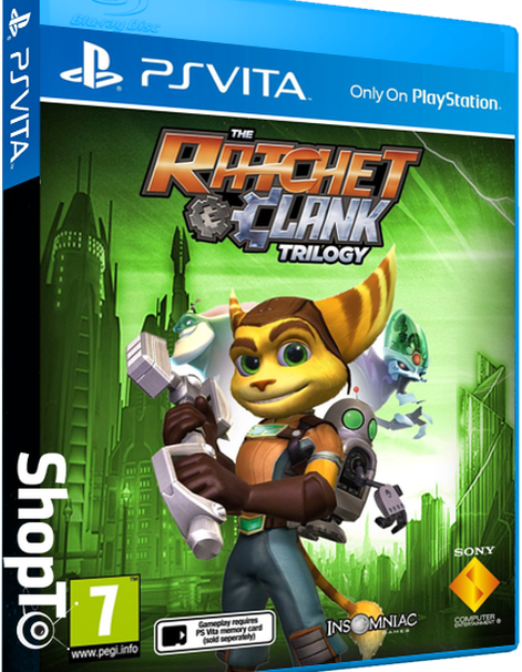 Ratchet and Clank Trilogy Listed For PS Vita