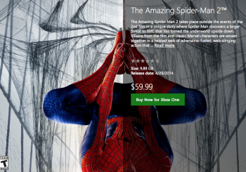 Digital Xbox One The Amazing Spider-Man 2 Out Now