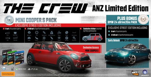 the crew anz edition