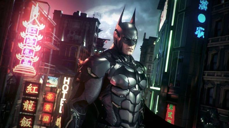 Swooping In The Batman: Arkham Knight Gameplay Trailer