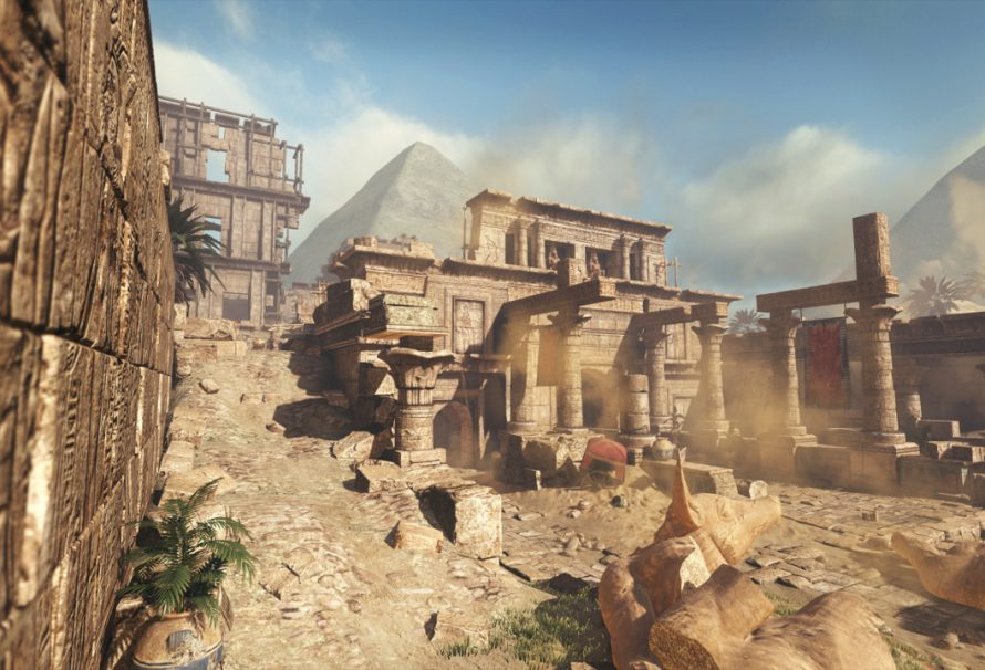 Video Of Pharaoh Map In Call of Duty: Ghosts
