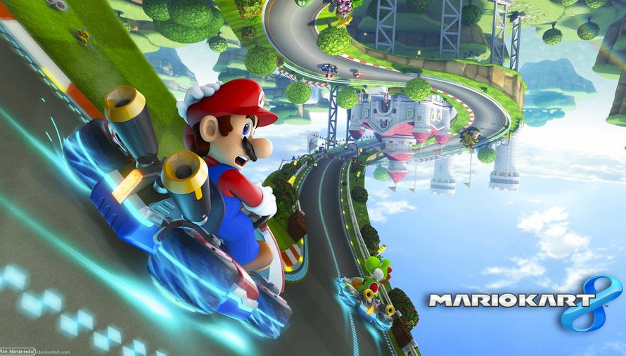 Try Out Mario Kart 8 At Your Local GameStop This Weekend