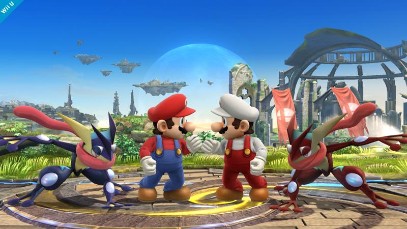 Super Smash Bros. Update Unveils A Few Alternate Color Costumes