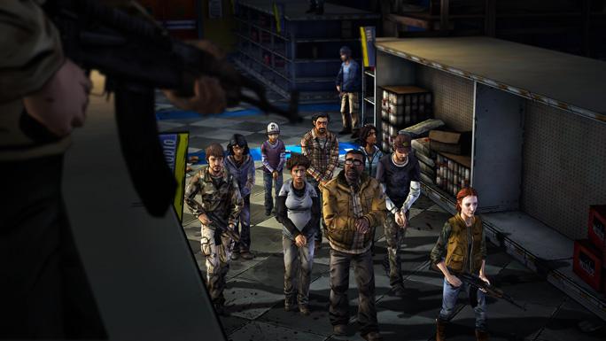 The Walking Dead: Season 2 – Episode 3 Player Choices