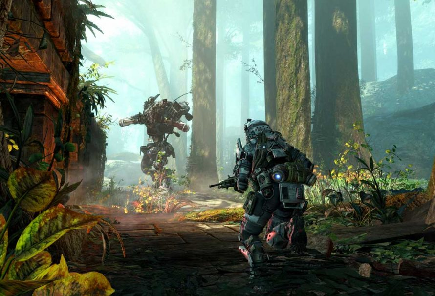 Go Behind The Scenes Of Titanfall's Swampland DLC Map In New Video