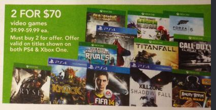 Twelve Games Are 2 For $70 At Toys R Us This Week