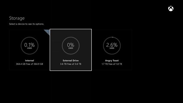 Xbox One June Update Finally Adds External Storage Capabilities