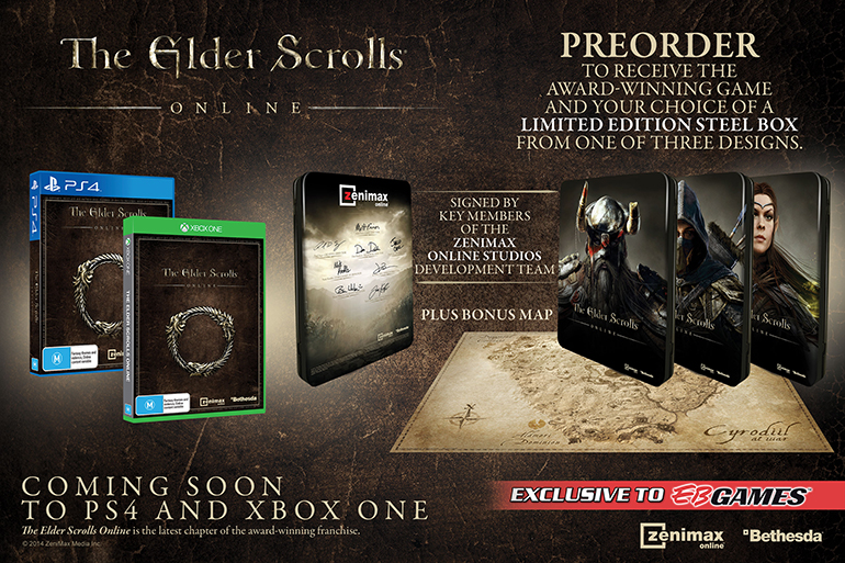 Elder scrolls online release date xbox 360 in Perth