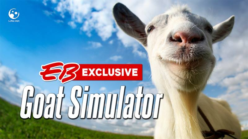EB Games Will Be Selling Goat Simulator