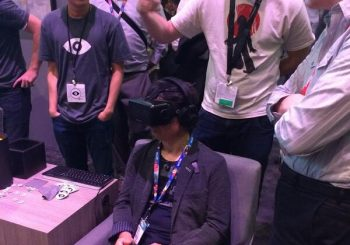 E3 2014: Shigeru Miyamoto Tries Out The Oculus Rift