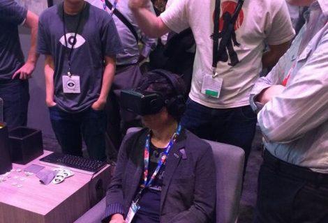 E3 2014: Shigeru Miyamoto Tries Out The Oculus Rift