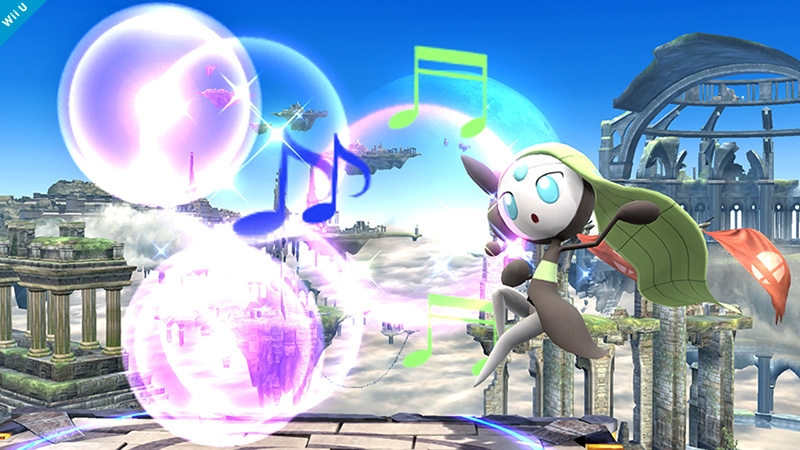 Super Smash Bros. Adds Meloetta As Poke Ball Pokemon