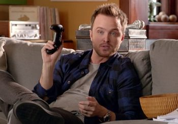 Aaron Paul Literally Turns On Other People's Xbox One Consoles