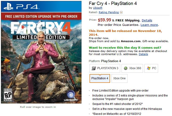 Rumor: Far Cry 4 Cover Changed Due To Racism Controversy