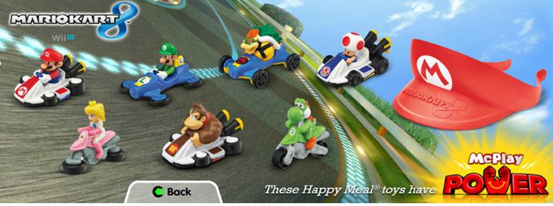Mario Kart 8 McDonald's Toys Being Released