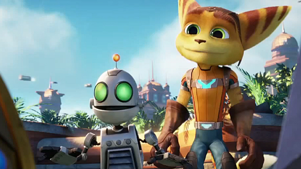 E3 2014: First Look At Ratchet and Clank Movie