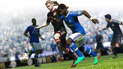 FIFA 15 action