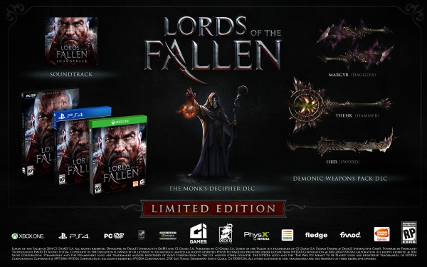 Lords of the Fallen Limited Edition Announced