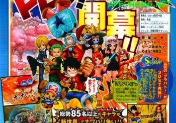 One Piece: Super Grand Battle! X announced for 3DS