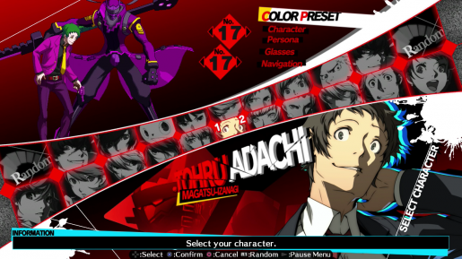 P4AU Adachi Joker
