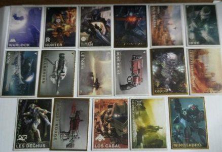 destiny trading cards