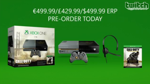 Call of Duty: Advanced Warfare w/ 1TB HDD Xbox One Bundle announced