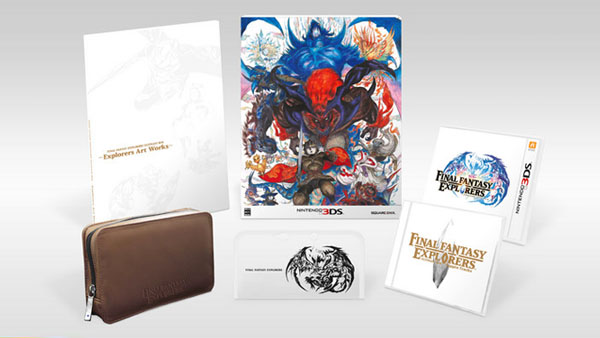 Final Fantasy Explorers Ultimate Box announced
