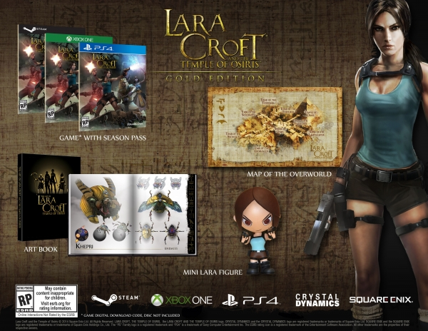 Lara Croft and the Temple of Osiris Gold Edition Detailed