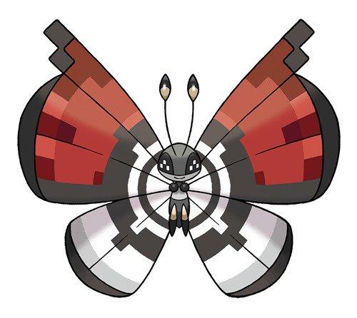 Pokemon X and Y Get Rare Pokeball-Themed Vivillon