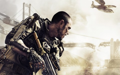 advanced warfare keyart
