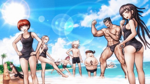 danganronpa beach