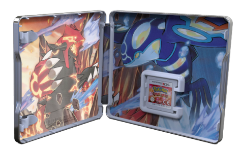 pokemon steelbook inside