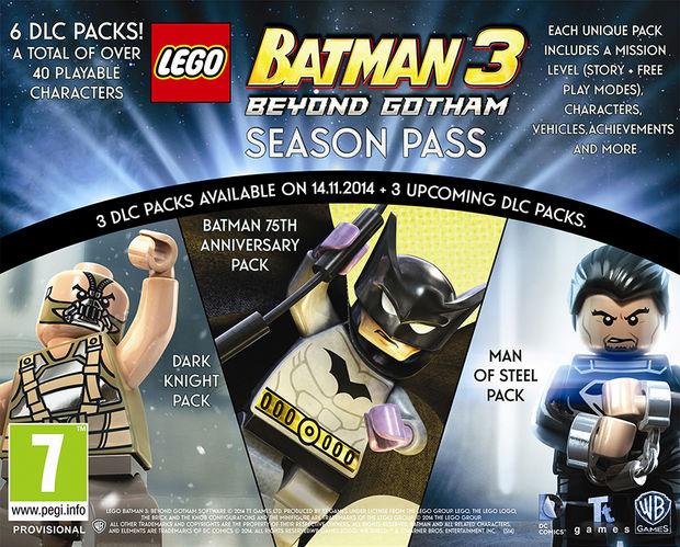LEGO Batman 3 Season Pass Announced