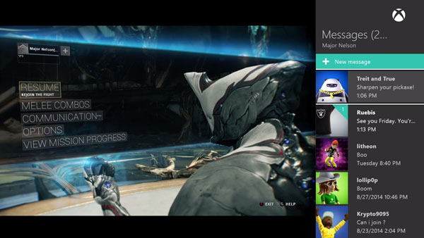Xbox One October Dashboard Update detailed